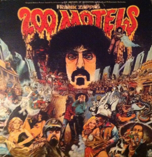 200 Motels by Frank Zappa from United Artists Records (UDF 50003)