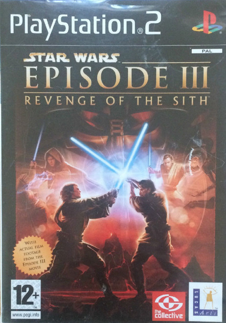 Star Wars Episode III: Revenge Of The Sith for Sony Playstation 2/PS2 from LucasArts (SLES 53155)
