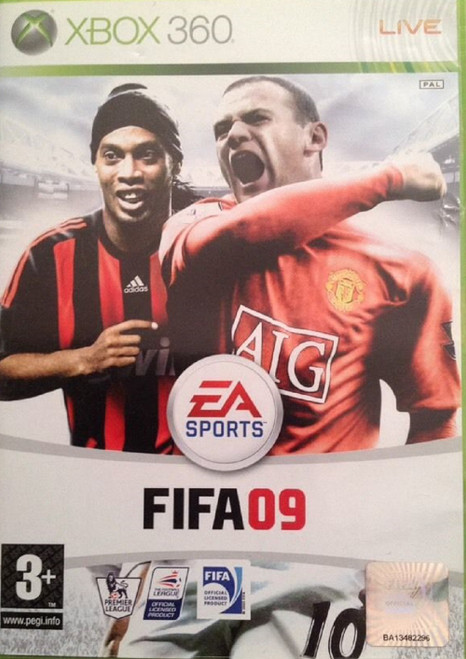 FIFA 09 PAL for Microsoft Xbox 360 from EA Sports