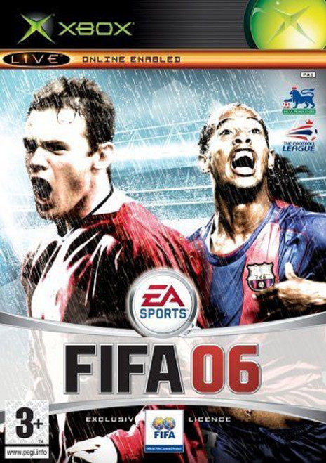 FIFA 06 for Microsoft XBOX from EA Sports