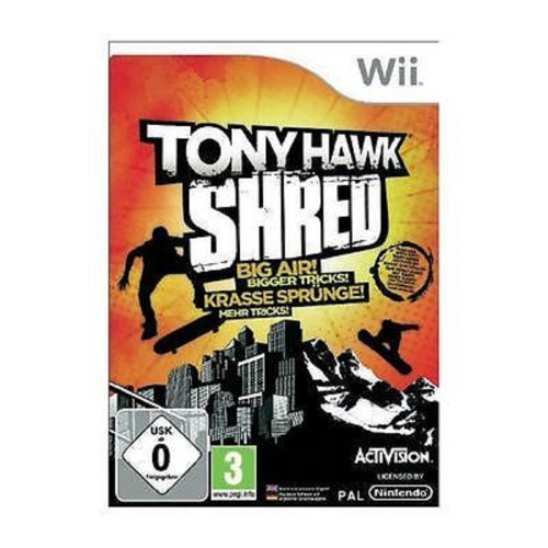 Tony Hawk: Shred for Nintendo Wii from Activision (RVL-STYP-EUR)