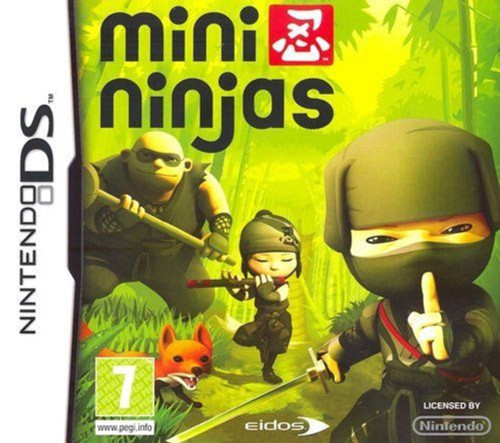 Mini Ninjas for Nintendo DS/NDS from Eidos (NTR-YNJP-EUR)