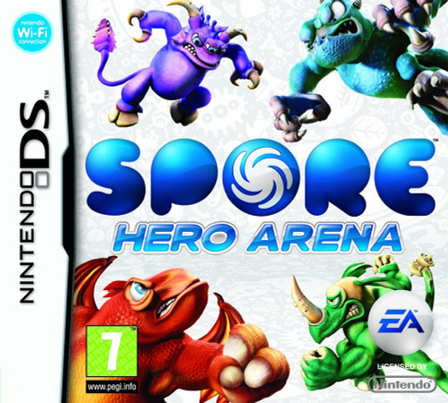 Spore Hero Arena for Nintendo DS/NDS from EA (Electronic Arts) (NTR-C49P-UXP)
