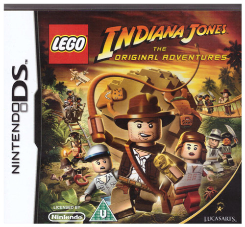 Lego Indiana Jones: The Original Adventure for Nintendo DS/NDS from Traveller's Tales/LucasArts (NTR-YLJP-UKV)