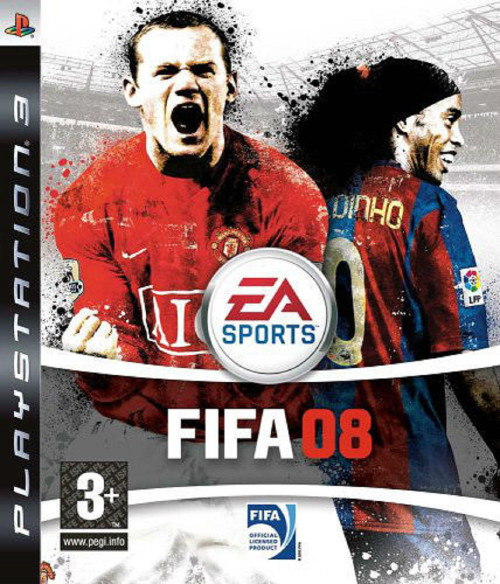 FIFA 08 for Sony Playstation 3/PS3 from EA Sports (BLES 00132)
