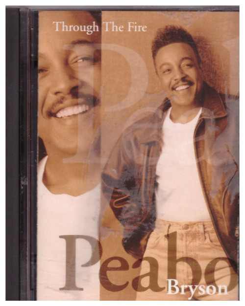Through The Fire by Peabo Bryson from Columbia on MiniDisc (CM 52911)