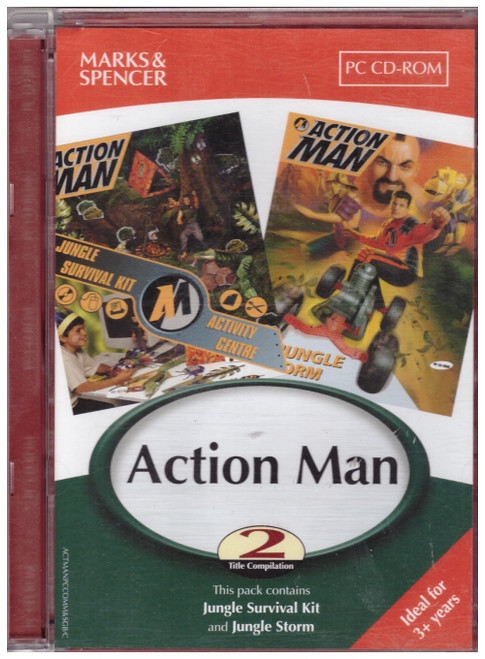 Action Man 2 Title Compilation for PC from Marks & Spencer/Infogrames