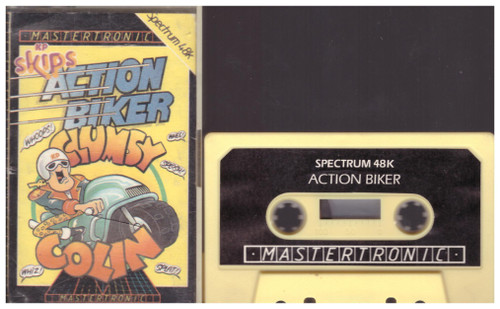 Action Biker Featuring Clumsy Colin for Spectrum by Mastertronic on Tape