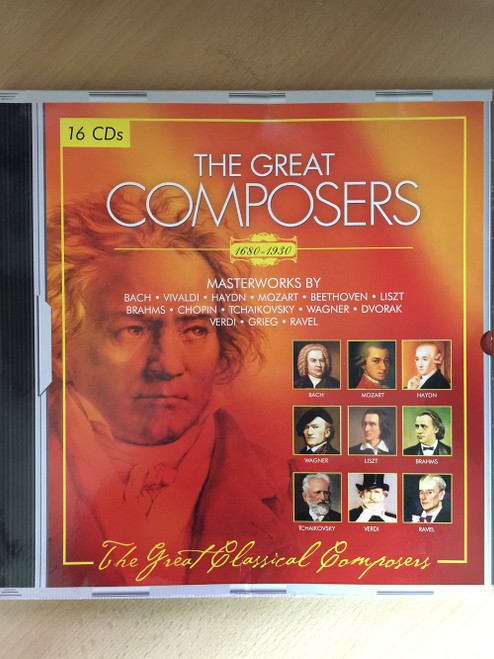 The Great Composers 1680-1930 from Tandem Verlag/Flex Media Entertainment (10217)