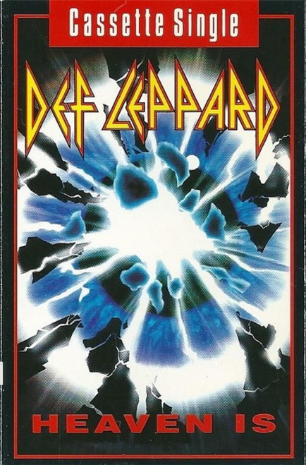 Heaven Is/She's Too Tough by Def Leppard from Bludgeon Riffola (LEPMC 9)