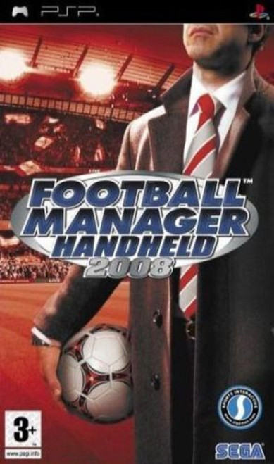 Football Manager Handheld 2008 for Sony Playstation Portable/PSP from Sega (ULES 00934)