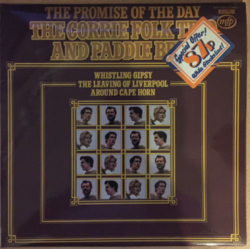 The Promise Of The Day by The Corrie Folk Trio And Paddie Bell from Music For Pleasure (MFP 50154)