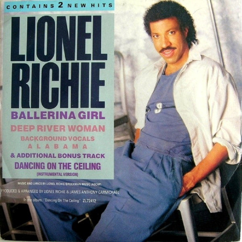 """12"""" 45RPM Ballerina Girl by Lionel Richie from Motown (LIOT 3)"""