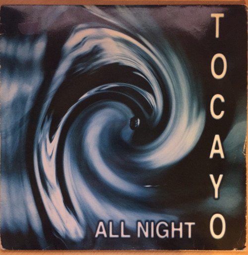 """12"""" 45RPM All Night by Tocayo from Limbo Records (LIMB 48T)"""