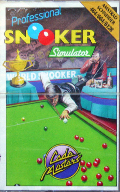Professional Snooker Simulator for Amstrad CPC from CodeMasters