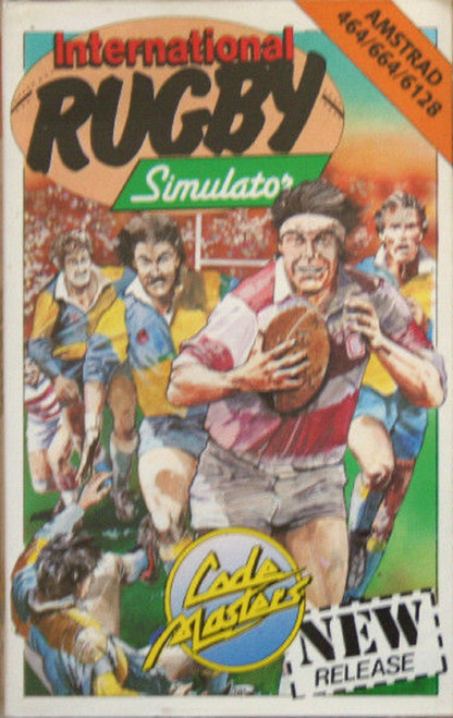 International Rugby Simulator for Amstrad CPC from CodeMasters