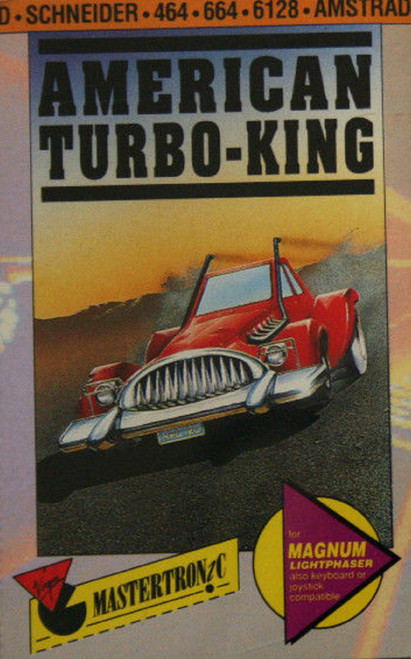 American Turbo-King for Amstrad CPC from Mastertronic Plus