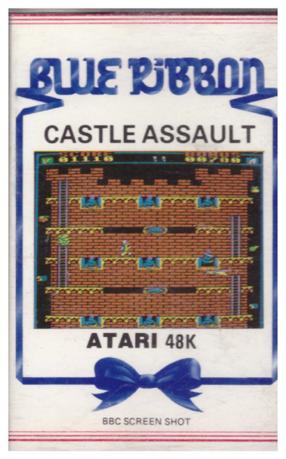 Castle Assault for Atari 8-Bit Computers from Blue Ribbon (11901)