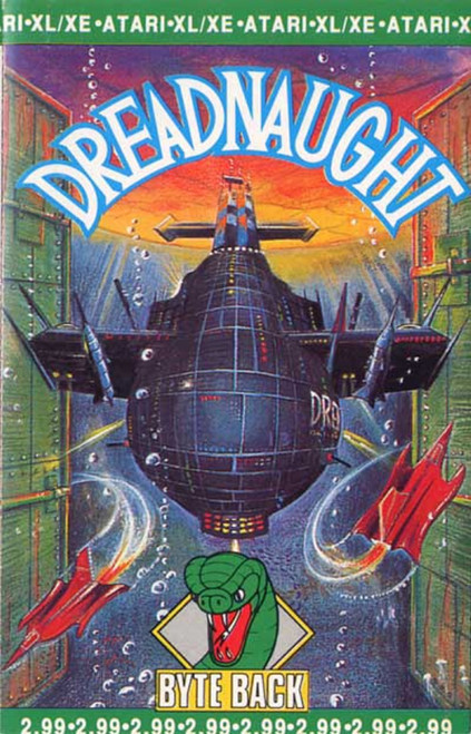 Dreadnaught for Atari 8-Bit Computers from Byte Back