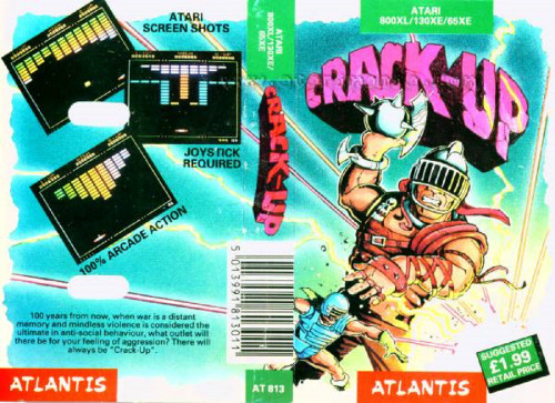 Crack-Up for Atari 8-Bit Computers from Atlantis (AT 813)