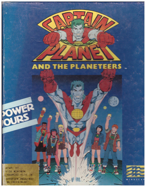 Captain Planet And The Planeteers for Atari ST/STE from Mindscape