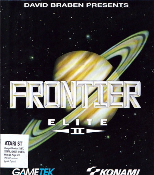 Frontier: Elite II for Atari ST/STE from Gametek