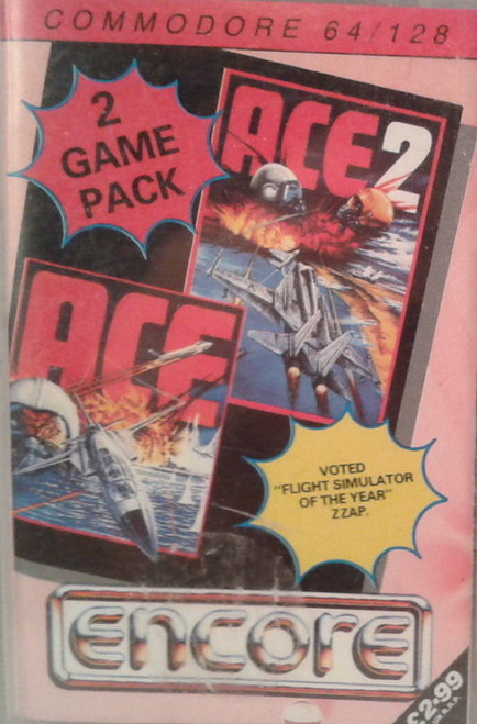 Ace And Ace 2 for Commodore 64 from Encore