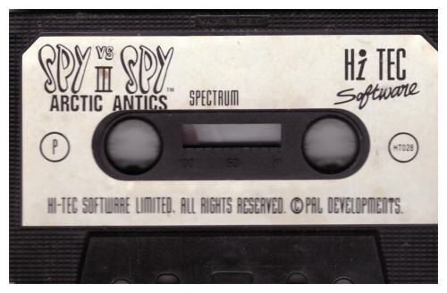 Spy Vs Spy III: Artic Antics Tape Only for ZX Spectrum from Hi-Tec Software