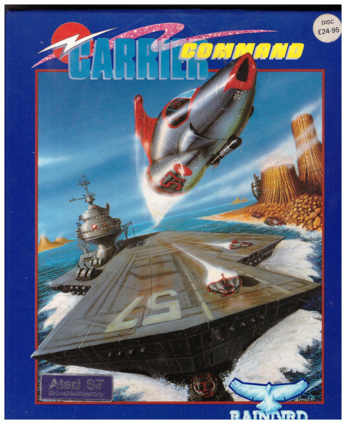 Carrier Command for Atari ST/STE from Rainbird