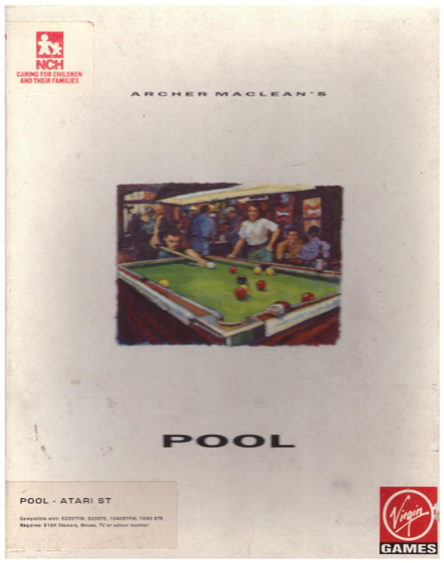 Archer Maclean's Pool for Atari ST/STE from Virgin Games