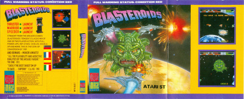 Blasteroids for Atari ST/STE from Image Works
