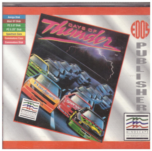 Days Of Thunder for Commodore Amiga from Mindscape