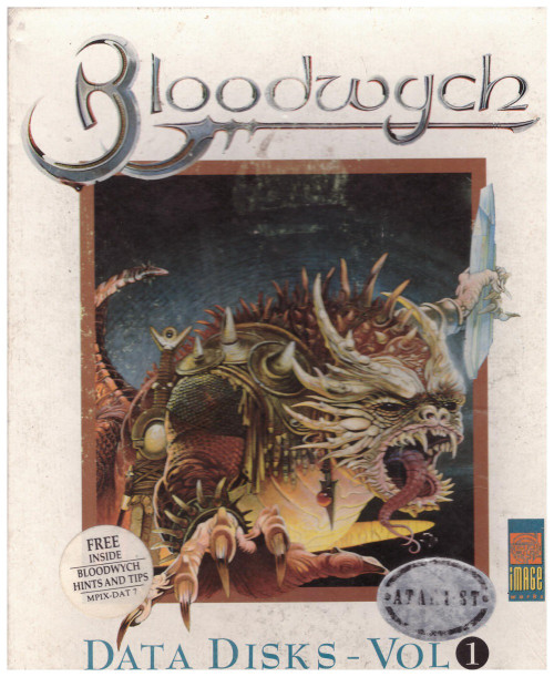 Bloodwych Data Disks - Vol 1 for Atari ST/STE from Image Works
