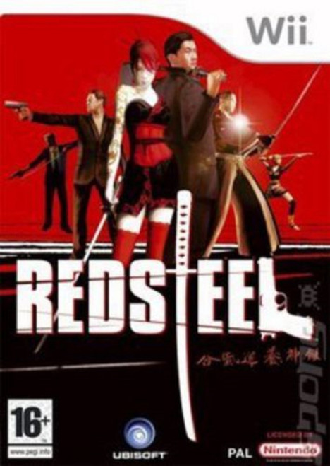 Red Steel PAL for Nintendo Wii from Ubisoft (RVL-REDP-UKV)