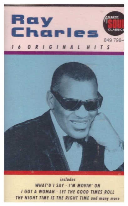 16 Original Hits by Ray Charles from Convoy (849 798-4)