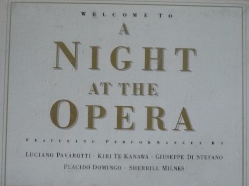 Welcome To A Night At The Opera from Telstar (STAC 2414)