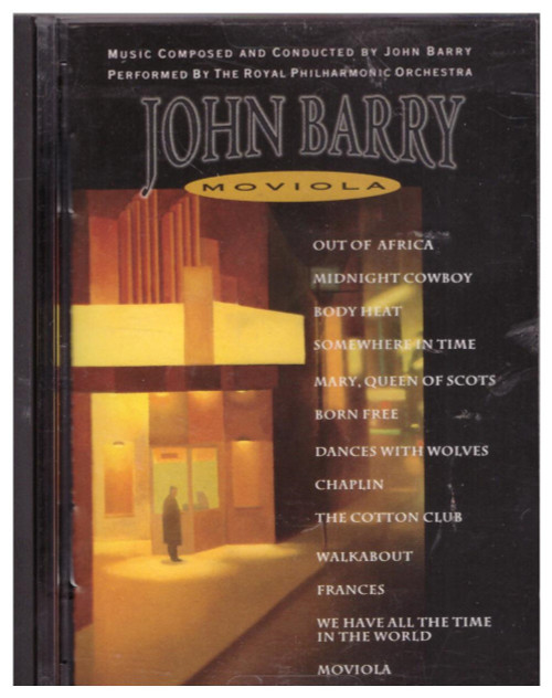 Moviola by John Barry from Epic Soundtrax (EM 52985)