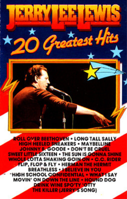 20 Greatest Hits by Jerry Lee Lewis from Black Tulip (BT 555013)