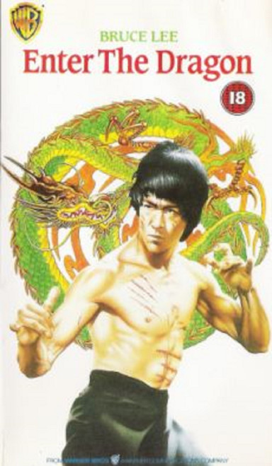 Enter The Dragon VHS from Warner Home Video (PES 1006)