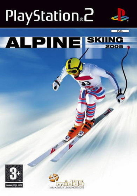 Alpine Skiing 2005 for Sony Playstation 2/PS2 from Midas Interactive (SLES 53362)