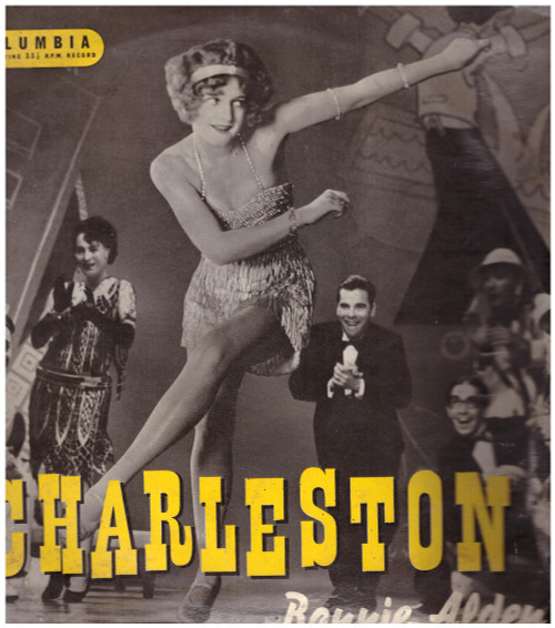 """10"""" 33RPM Charleston by Bonnie Alden from Columbia (33S 1123)"""