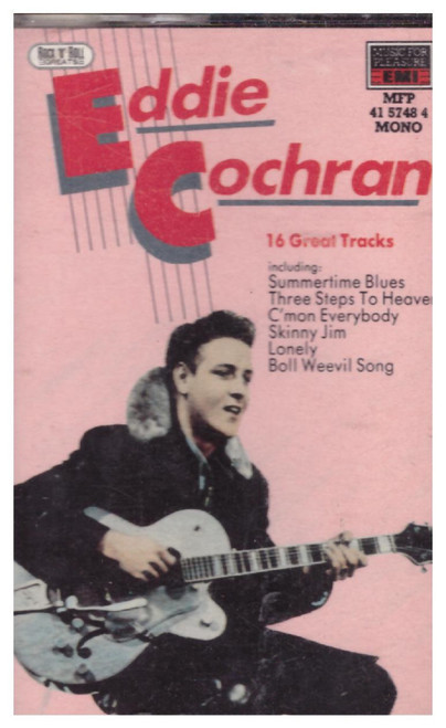 16 Great Tracks by Eddie Cochran from Music For Pleasure (41 5748 4)