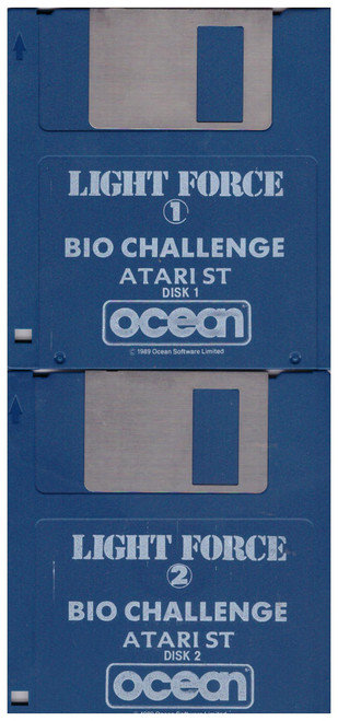 Bio Challenge Disks Only for Atari ST/STE from Delphine/Ocean