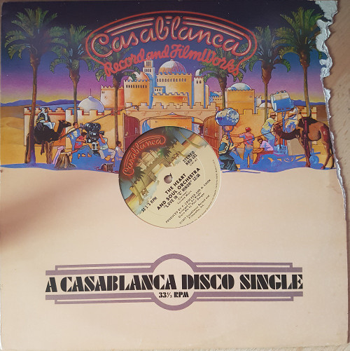 """12"""" 33RPM Love In 'C' Minor by The Heart And Soul Orchestra from Casablanca (NBD-101)"""