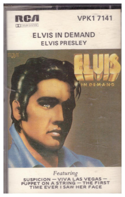 Elvis In Demand by Elvis Presley from RCA on Cassette (VPK1 7141)