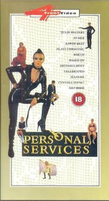 Personal Services from 4 Front Video on VHS (083 780 3)