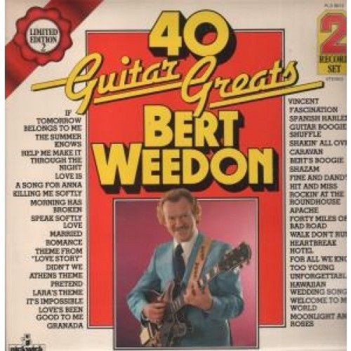 40 Guitar Greats by Bert Weedon from Pickwick Records (PLD 8012)