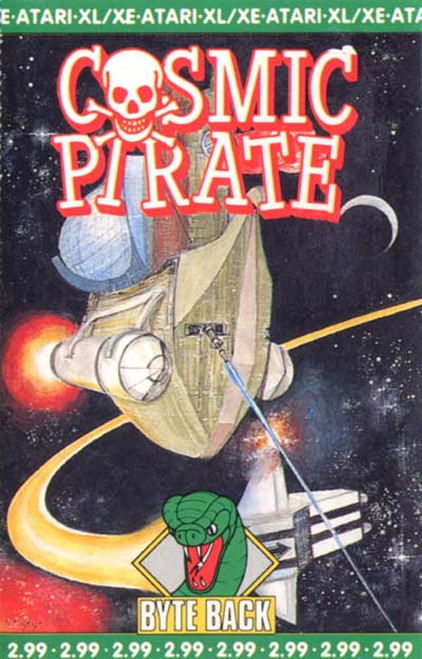 Cosmic Pirate for Atari 8-Bit Computers from Byte Back