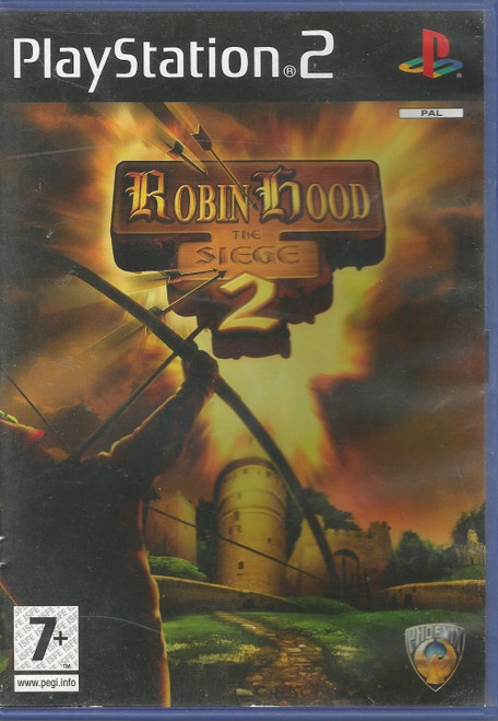 Robin Hood: The Siege 2 for Sony Playstation 2/PS2 from Phoenix Games (SLES 54122)