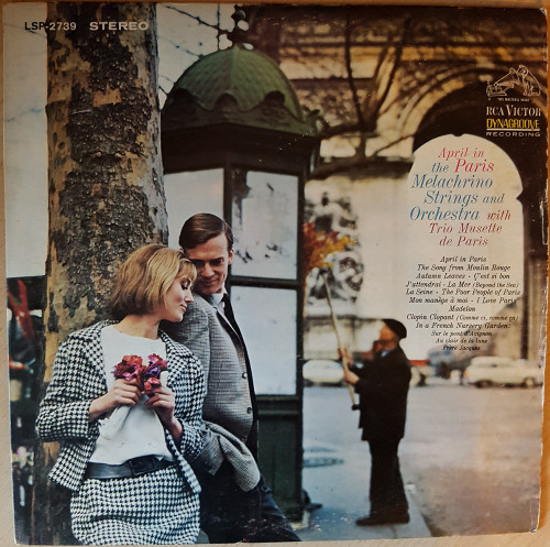 April In Paris by The Melachrino Strings And Orchestra With Trio Musette De Paris from RCA Victor (LSP-2739)